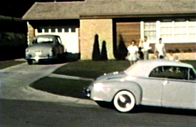 1950 3630 Jennings Street, Sioux City, IA Kelly's and Millers, Don Kelly's car